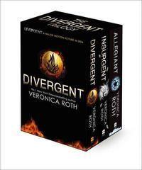 Divergent Trilogy Boxed Set (Books 1-3) Divergent; Insurgent: Allegiant   @giftryapp