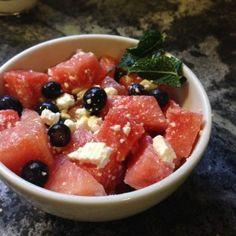 Festive Feta Fruit Salad « Food of the Day