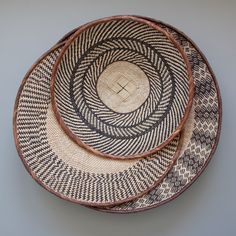 Tonga baskets.  Great hung as a wall decoration or a center piece on a table