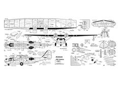 PBY Catalina by Paul Palanek from Model Airplane News 1958 - plan thumbnail Sea Plane, Float Plane, Airplane News, Amphibious Aircraft, Us Navy Aircraft, Living On A Boat, Flying Boat, Model Airplanes, Paper Models