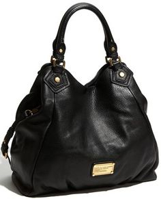 Marc By Marc Jacobs Classic Q Francesca Should Bag in Black