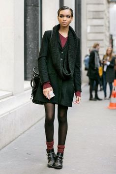 How to wear Booties and Socks | Cuidar de tu belleza es facilisimo.com