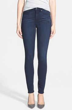 Paige Denim 'Hoxton' High Rise Ultra Skinny Jeans (Mae)   Nordstrom