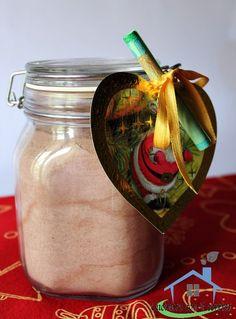 Il preparato per budino al cioccolato è un regalo perfetto per le feste natalizie e non solo, un modo pratico e genuino per preparare una sana merenda.