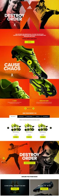 adidas - X15 & ACE15 on Behance