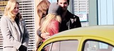 """Jennifer Morrison and COlin O'Dononghue - Behind the scenes - 4* 20 """"Mother"""" #CaptainSwan"""
