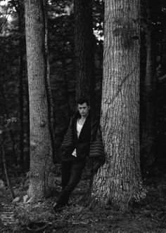 Sean OPry is an American Vision for Vogue Hommes International #16