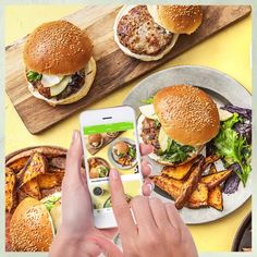 Get Cooking with 6 Free Meals! New Year's Drinks, Summer Drinks, Healthy Recipes For Diabetics, Snapchat, Spring Recipes, Food Packaging, Stop Motion, Motion Design, Easy Cooking