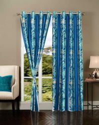 Buy HOME ELITE BEAUTIFUL POLYESTER DOOR CURTAINS (SET OF 2) RG-CTT-345 at lowest price