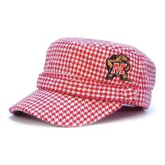 The Honour Society - Maryland Terrapins Houndstooth Cabbie Hat, $24.99 (http://www.thehonoursociety.com/products/maryland-terrapins-houndstooth-cabbie-hat.html)