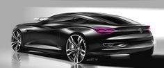 Cardesign sketches by Grigory Butin