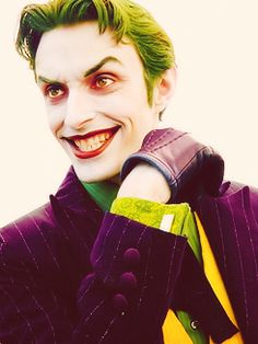 Anthony Misiano as the Joker - FINALLY FOUND HIS NAME. Good for you, sir.