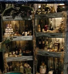 Spooky Apothecary (Detail)