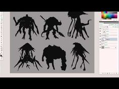 EPISODE 30 Character Silhouettes part1 - YouTube