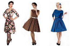50'er kjoler, vintage kjoler, rockabilly kjoler og swing kjoler