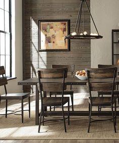 Carbon Loft Roxie Brown Wood Dining Set (Jennings Dining Set in Walnut) Decor, Brown Wood, Furniture, Interior, Dining Set, Carbon Loft, Industrial Chic Decor, Dining, 7 Piece Dining Set