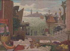 Memories of Venice, Milan Thomka Mitrovský, Slovak National Gallery Artwork Display, Public Domain, Venice, Milan, Italy, Memories, Gallery, Painting, Memoirs