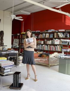 Book publisher Martine Assouline photographed in her New York offices for Entree Magazine on March 1, 2011 in New York City.