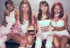 Destiny's Child from the Bills, Bills, Bills video back when Bey was extra thick