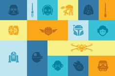 Free Star Wars Icons by Sensible World Star Wars Icons, Star Wars Set, Star Wars Party, Star Wars Characters, Free Photoshop, How To Make Tshirts, Vector Icons, Vector Art, Icon Design