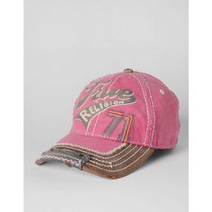 True Religion Brand Jeans Logo 71 Baseball Cap ($95)