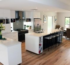 We provide modern, functional kitchens in Perth. We can help you with kitchen design, cabinets and full kitchen renovations. New Kitchen, Kitchen Ideas, Kitchen Design, Kitchen Gallery, Functional Kitchen, Cabinet Makers, Perth, Kitchens, Kitchen Cabinets