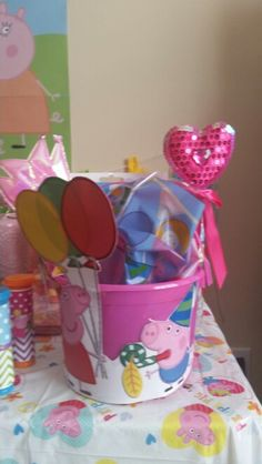 Birthday Girl's Gift Bag Birthday Gifts For Girls, 3rd Birthday, Pig Party, Baileys, Peppa Pig, Girl Gifts, Bag, 3 Year Olds, Girl Birthday Gifts