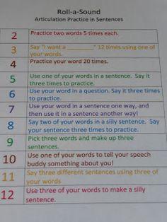 Liz's Speech Therapy Ideas