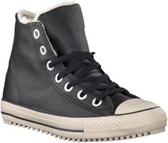 Black Converse Sneakers http://www.omoda.nl/dames/sneakers/converse/zwarte-converse-sneakers-converse-boot-mid-51476.html