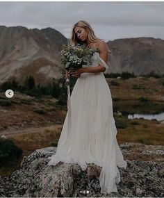 9e4532fa16f Beach Bohemian Wedding Dresses A Line Tulle Off the Shoulder Bridal Gowns
