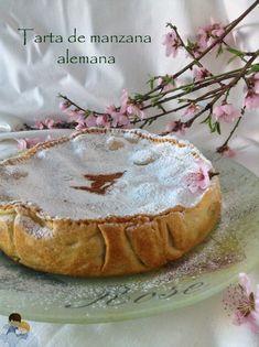 Tarta de manzana alemana (Toffee apfel kuchen) Por mi cumple =)