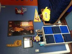 Boy's basketball room