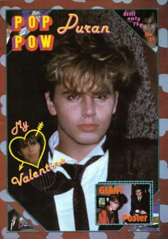 Duran Duran Picture Gallery | DURAN DURAN Pop Pow 1980s Poster Magazine No 15 With John Taylor Simon ...