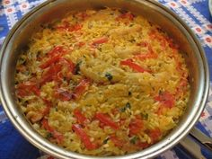 A Simple Spanish Recipe for Rice with Salt Cod (arroz con bacalao) - Simple Spanish Food