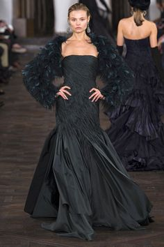 Ralph Lauren #black #dress #fashion