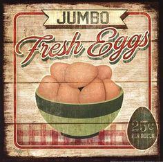 Jumbo Fresh Eggs