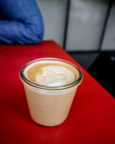 Latte at Village Vanguard, East Village | Mini Adventures