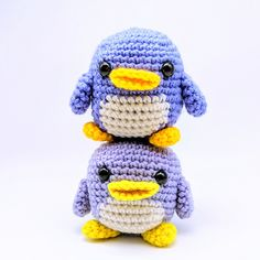 Ravelry: Cube Little Penguin pattern by Crafty Bunny Bun