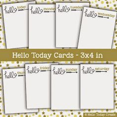 Hello Today Create: Downloads