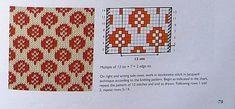 Knitting Charts, Knitting Stitches, Knitting Designs, Knitting Patterns, Filet Crochet, Knit Crochet, Rubrics, Mittens, Cross Stitch
