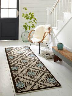 Teppich im Flur: Schöne Interieur Vorschläge für Ihren Eingangsbereich