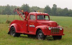 Ford 2 1/2 tonnes 1946. Ça commence à être sérieux.