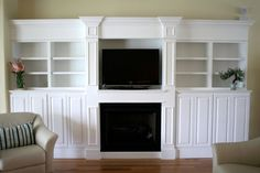 entertainment center with fireplace wall unit | CUSTOM ENTERTAINMENT CENTER/FIREPLACE