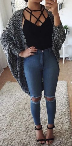 Keep it casual trendy fall outfits, spring outfits for teen girls, summer fashion for Trendy Fall Outfits, Fall Winter Outfits, Outfits For Teens, Spring Outfits, Curvy Girl Outfits, Summer Outfits Casual For Curvy Girls, School Outfits, Casual Teen Outfits, Tumblr Fall Outfits