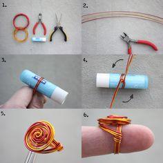 DIY: wire rings