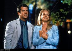 MEL GIBSON & HELEN HUNT WHAT WOMEN WANT (2000) Stock Photo