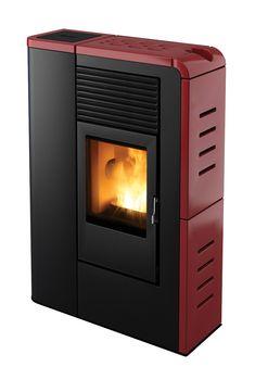 Flat pellet stove by MCZ