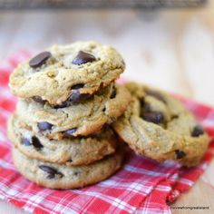 Flourless Peanut Butter Chocolate Chip Cookies, Gluten Free   The View from Great Island