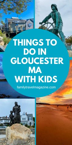 Gloucester Massachusetts is known as America's Oldest Seaport, and as you'd expect, there are plenty of waterfront activities with kids. Read about the best things to do with kids in Gloucester MA. Best Vacation Spots, Best Vacations, Vacation Destinations, Gloucester Massachusetts, Stuff To Do, Things To Do, New England Travel, Beach Fun, Nantucket