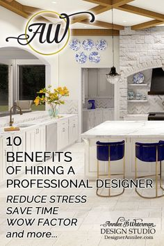 A professional designer can turn what could potentially be super stressful and time consuming into a fun, easy and creative experience. Here's 10 benefits of Hiring a Professional Designer that will add value to your home project.